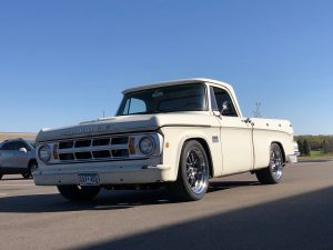 Dodge D100 Truck with Coil-Over Conversion System